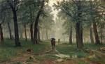 Живопись | Иван Шишкин | Дождь в дубовом лесу, 1891