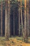 Живопись | Иван Шишкин | Заповедник. Сосновый бор, 1881
