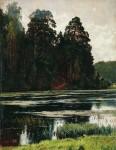 Живопись | Иван Шишкин | Пруд, 1881