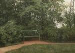 Живопись | Иван Шишкин | Скамейка в аллее, 1872