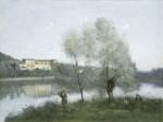 Живопись | Камиль Коро | Виль Д'Авре, 1867-70