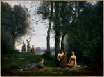 Живопись | Камиль Коро | Деревенский концерт, 1857
