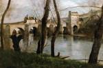 Живопись | Камиль Коро | Мост в Манте, 1868-70