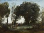 Живопись | Камиль Коро | Утро. Танец нимф, 1850