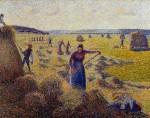Живопись | Камиль Писсарро | Заготовка сена в Эраньи, 1877