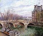 Живопись | Камиль Писсарро | Королевский мост и Павильон «Флора», 1903