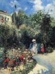 Живопись | Камиль Писсарро | Фруктовый сад в Понтуазе, 1877