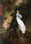 Живопись | Карл Брюллов | Всадница, 1832