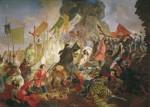 Живопись | Карл Брюллов | Осада Пскова польским королем Стефаном Баторием в 1581 году, 1839-43