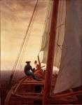 Живопись | Каспар Давид Фридрих | На паруснике, 1818-20