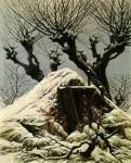 Живопись | Каспар Давид Фридрих | Снежная Хижина, 1827