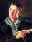 Живопись | Орест Кипренский | Мечтательница, 1827