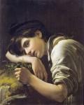 Живопись | Орест Кипренский | Молодой Садовник, 1817