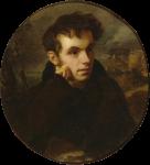 Живопись | Орест Кипренский | Портрет В. А. Жуковского, 1815