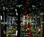 Живопись   Питер Дойг   Concrete Cabin, 1992