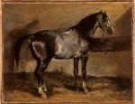 Живопись | Теодор Жерико | Лошадь (Этюд)