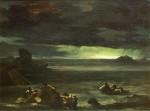 Живопись   Теодор Жерико   Потоп, около 1814