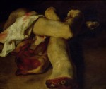 Живопись | Теодор Жерико | Части тела (Этюд к «Плот «Медузы»»), 1819