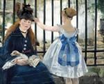 Живопись | Эдуард Мане | Железная дорога, 1873