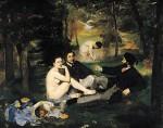 Живопись | Эдуард Мане | Завтрак на траве, 1863