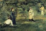 Живопись | Эдуард Мане | Крокет, 1873