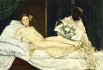 Живопись | Эдуард Мане | Олимпия, 1863