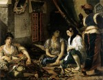 Живопись | Эжен Делакруа | Алжирские женщины в своих комнатах, 1834