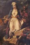 Живопись | Эжен Делакруа | Греция на руинах Миссолонги, 1826
