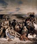 Живопись | Эжен Делакруа | Резня на Хиосе, 1824