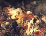 Живопись | Эжен Делакруа | Смерть Сарданапала, 1827