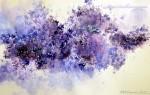 Живопись | Юлия Барминова | Purple lilac