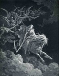 Иллюстрация | Гюстав Доре | Библия | Видение Смерти