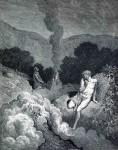 Иллюстрация | Гюстав Доре | Библия | Каин и Авель, приносящие Жертвы