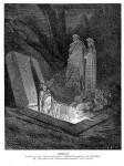 Иллюстрация | Гюстав Доре | Божественная комедия | Еретик (Фарината дельи Уберти)
