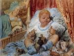 Иллюстрация | Гюстав Доре | Детство Гаргантюа