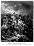 Иллюстрация | Гюстав Доре | Крестоносцы | Ричард Львиное Сердце, Сражение При Арсуфе