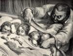 Иллюстрация | Гюстав Доре | Мальчик-с-пальчик