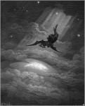 Иллюстрация | Гюстав Доре | Потерянный Рай | Сатана спускается на Землю
