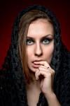Glam Halloween | Фото ©Сергей Пензенский | Makeup ©Яна Смирнова