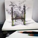 3d | Юлия Барминова | Bridge to the sky