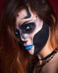 Glam Halloween | Фото ©Сергей Пензенский | Makeup ©Яна Смирнова | Корреспондент Artifex Анджелика Аликберова