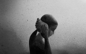 Элисия Эдиджанто. Монохромные акварели
