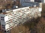 Архитектура | Вальтер Гропиус | Жилой дом в Ганзафиртель, Берлин, 1957
