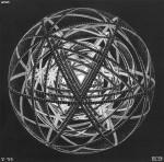 Графика | Мауриц Корнелис Эшер | Concentric Rinds