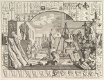 Гравюра | Уильям Хогарт | Анализ красоты, 1753
