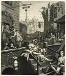 Гравюра | Уильям Хогарт | Переулок джина, 1751
