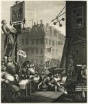 Гравюра | Уильям Хогарт | Пивная улица, 1751