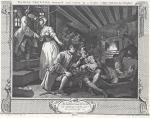 Гравюра | Уильям Хогарт | Промышленность и Праздность, 1747