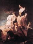 Живопись | Джованни Баттиста Пьяцетта | Идиллия на берегу, 1739-41