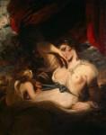 Живопись | Джошуа Рейнольдс | Амур развязывает пояс Венеры, 1788
